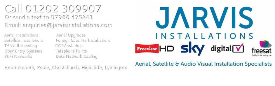 Aerial, Satellite & Audio Visual Installer